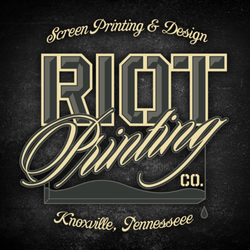 Riot printing screen printingt shirt printing 1321 chilhowee photo of riot printing knoxville tn united states reheart Gallery