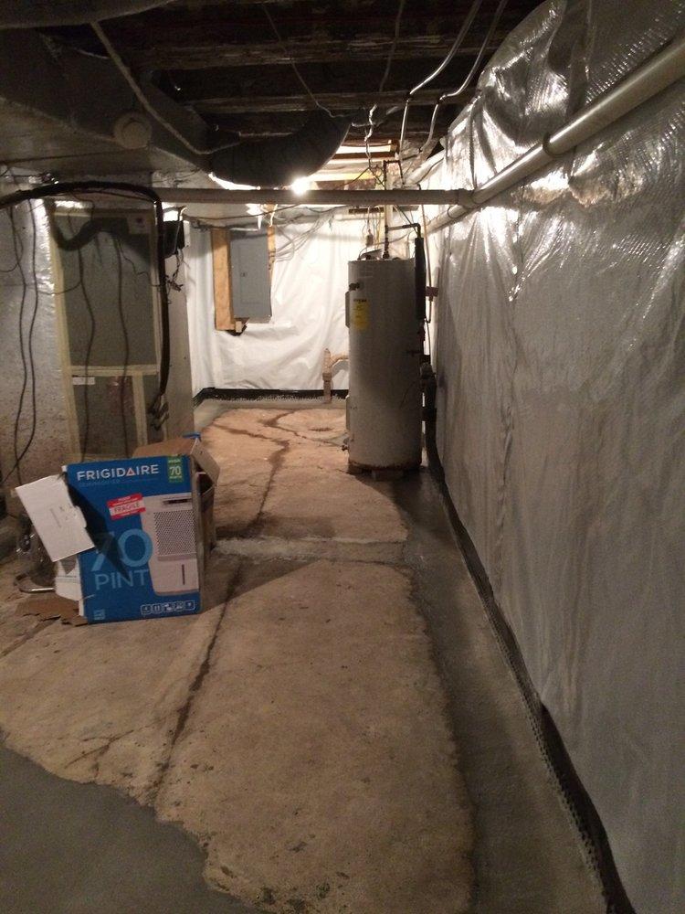 Basement Waterproofing Solutions - Waterproofing - 1553