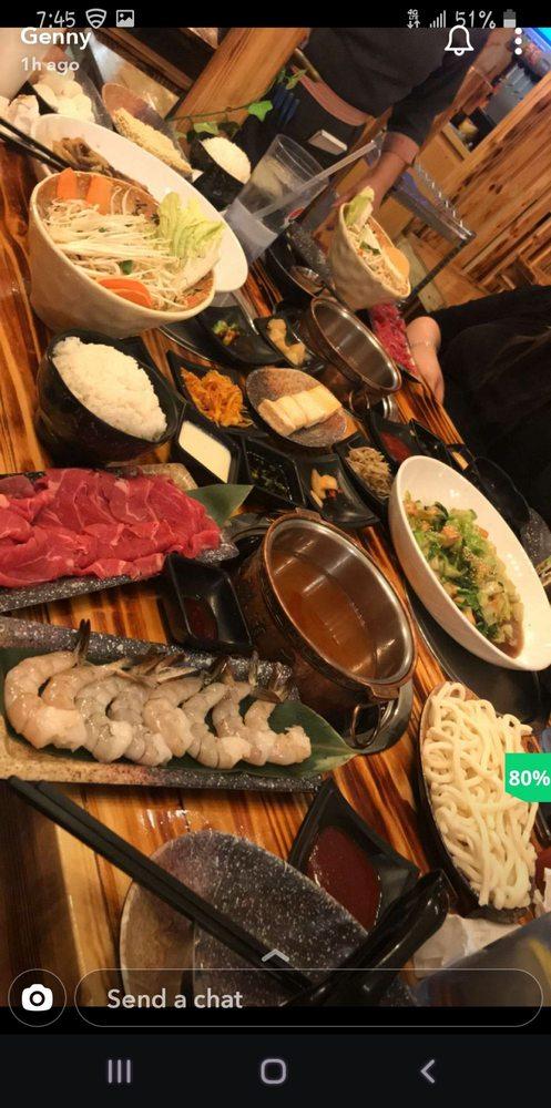 Food from Little Korea