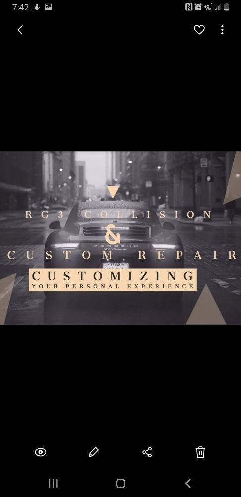RG3 Collision and Custom Repair Center