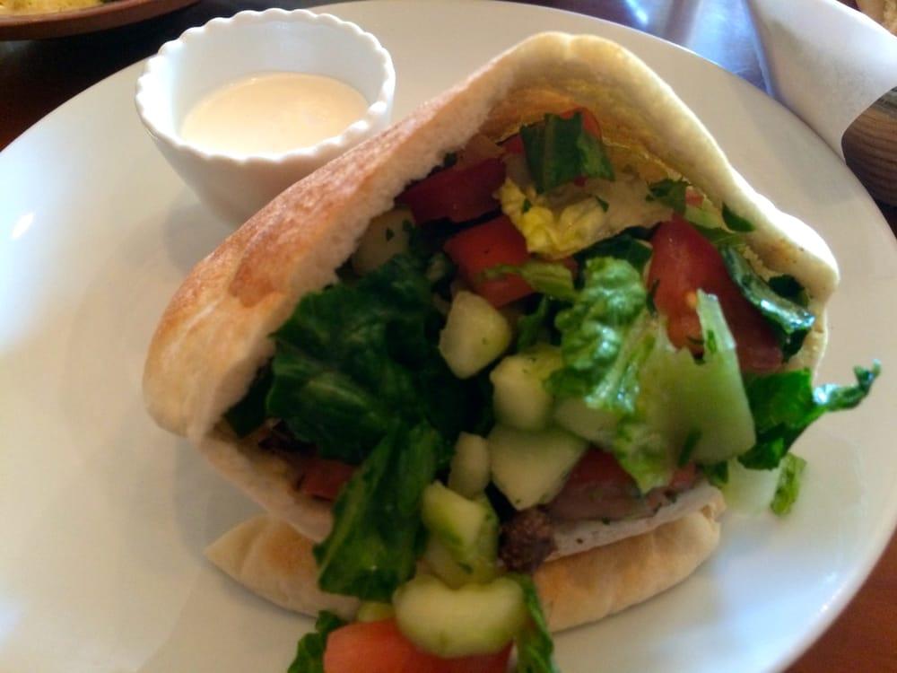 Beef/lamb Shawerma Wrap