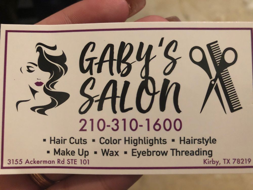Gaby's Salon: 3155 Ackerman Rd, Kirby, TX