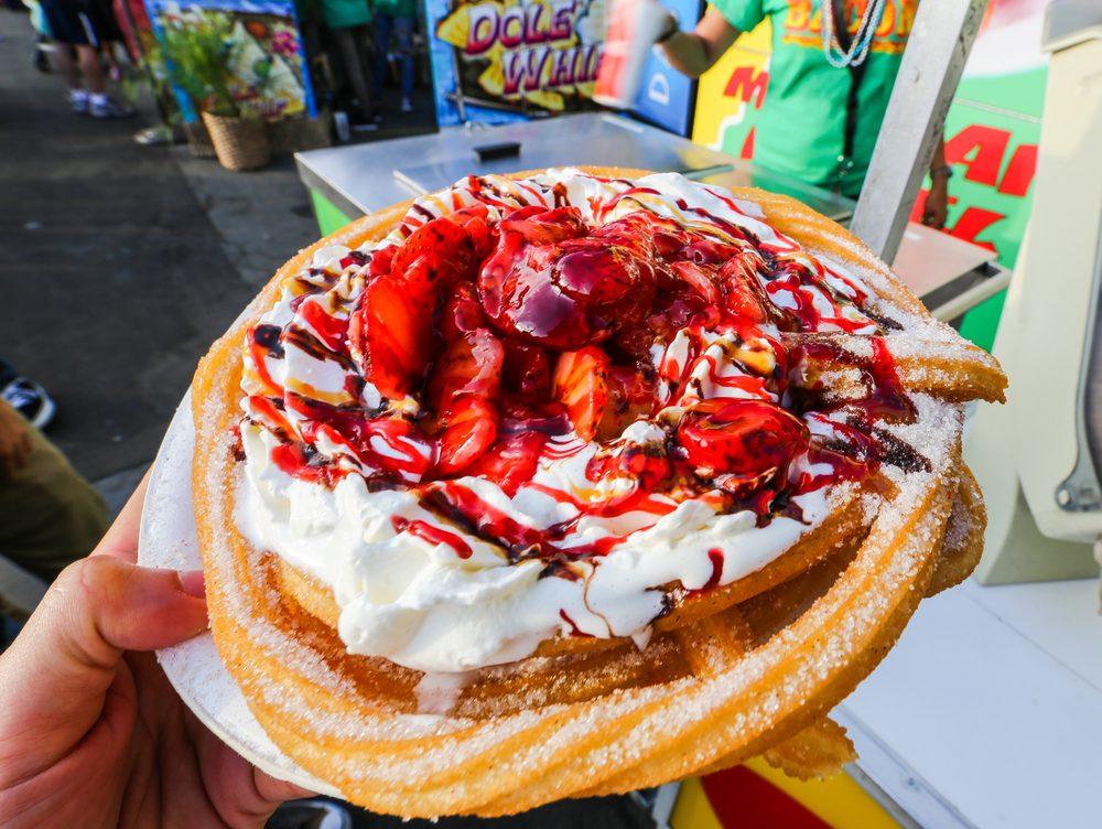 Funnel Cake In Long Beach