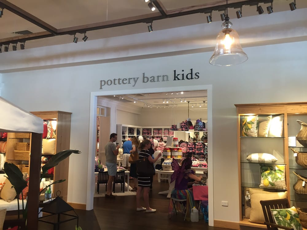 Pottery Barn Kids Pottery Barn Kids stores in Rochester - Hours, locations and phones Find here all the Pottery Barn Kids stores in Rochester. To access the details of the store (locations, store hours, website and current deals) click on the location or the store name.
