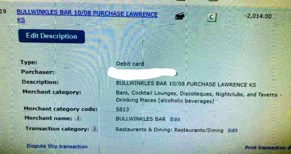 Bullwinkle's Bar: 1344 Tennessee St, Lawrence, KS