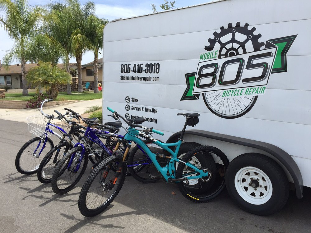 805 Mobile Bicycle Repair: 5106 Dodson St, Somis, CA