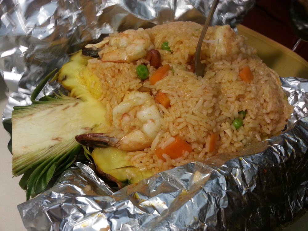 Pineapple fried rice yelp for Amarin thai cuisine