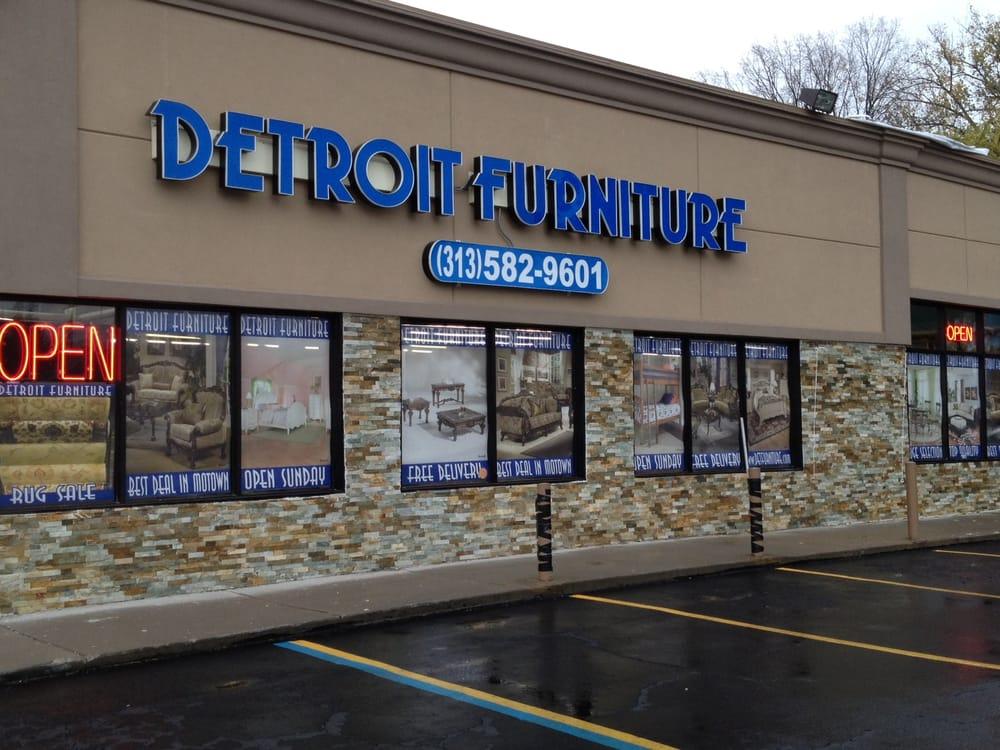 Detroit furniture photos stores w