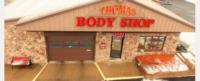 Thomas Auto Body: 5170 W Broadway Ave, Crystal, MN