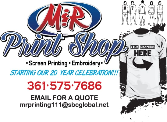 T shirts tshirts tee shirts screen printing custom t shirts photo of m r print shop victoria tx united states t reheart Gallery