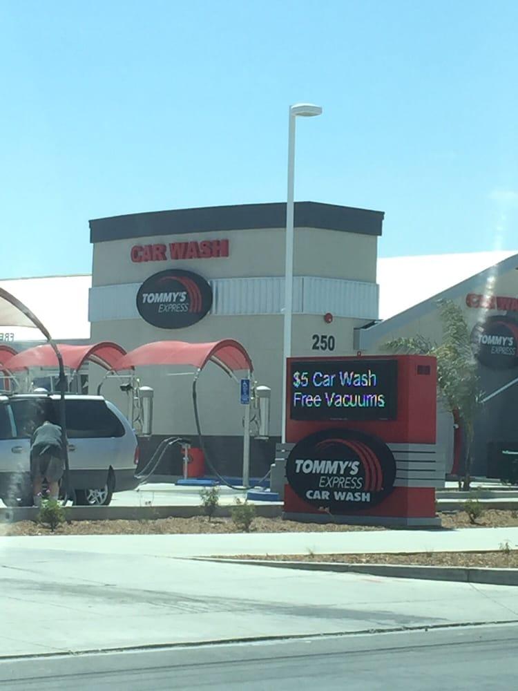 Tommy S Express Car Wash Hemet Ca