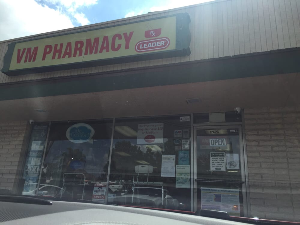 Vm Pharmacy Drugstores 12626 South St Cerritos Ca Phone