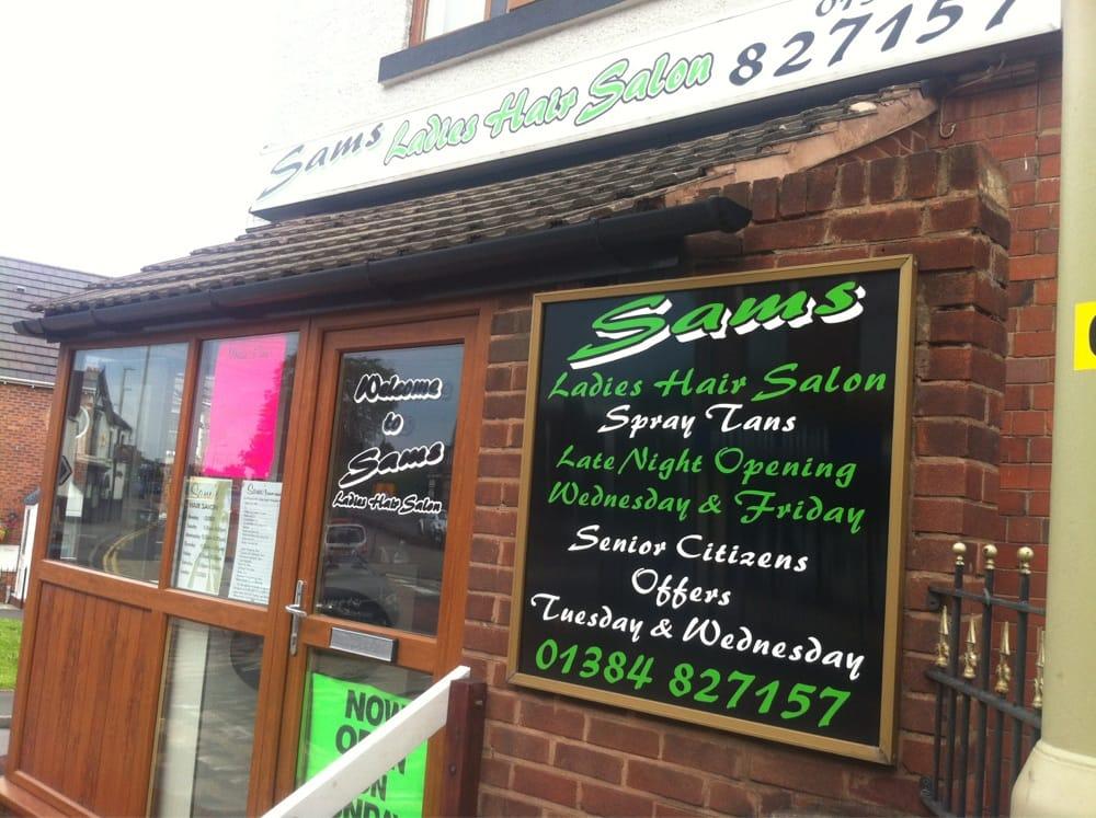 Sams ladies hair salon hairdressers 104 windmill hill for Sams salon