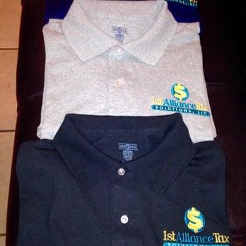 Bud s custom embroidery screen printing 12 reviews for Custom t shirts san antonio tx