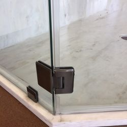 Unique Glass Shower Door Magnetic Latch