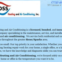 Photo Of Ross Heating Air Conditioning Sparks Nv United States