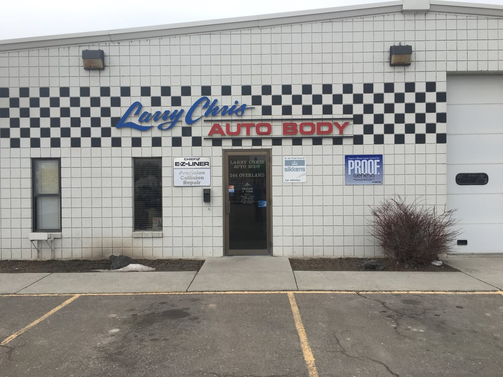 Larry Chris Auto Body: 244 Overland Ave, Burley, ID