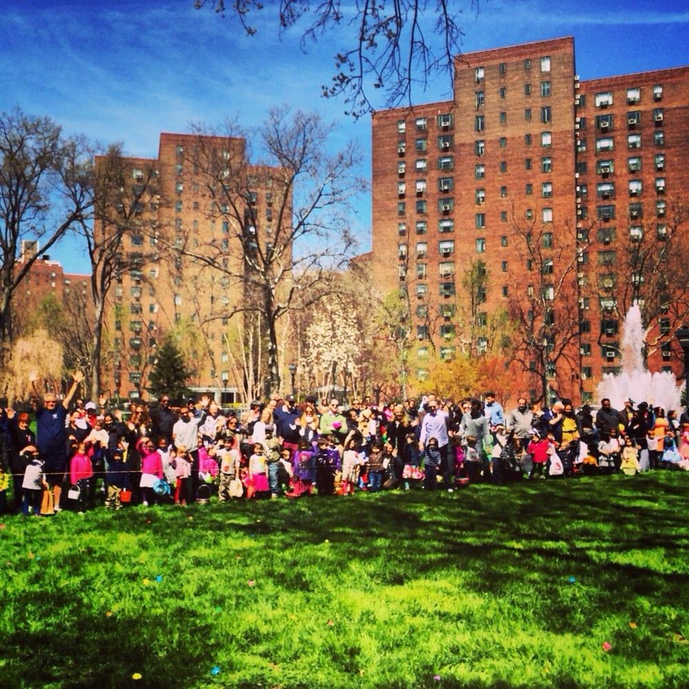 Egg Hunt Crowd Last Sunday
