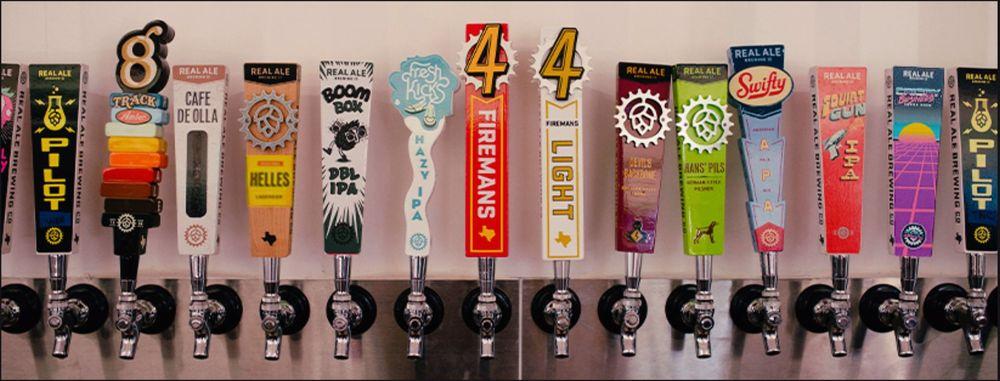 Real Ale Brewing: 231 San Saba Ct, Blanco, TX