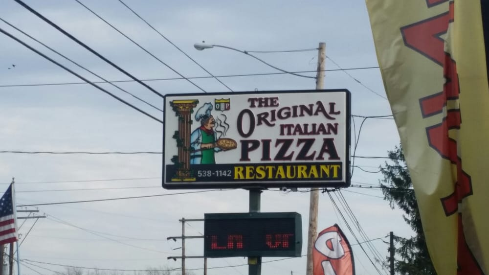 Original Italian Pizza: 16795 US Rt 15, Allenwood, PA