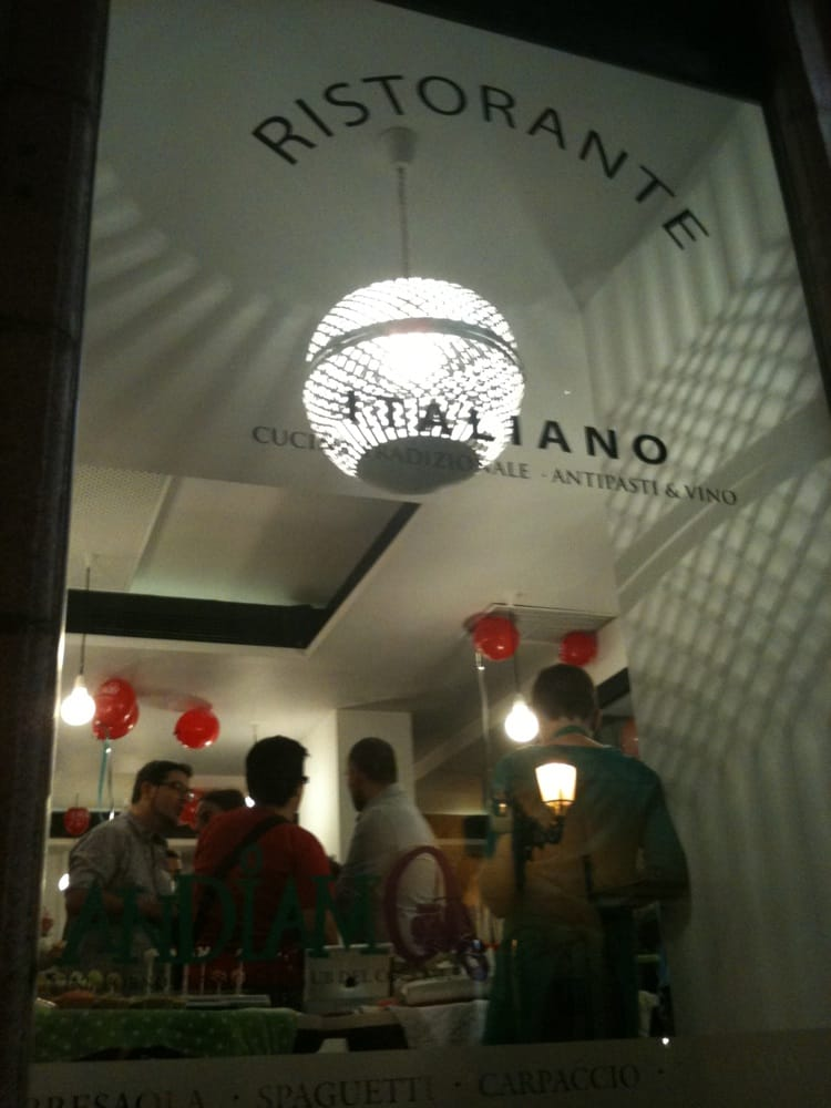 Andiamo closed 31 photos 10 reviews italian for Okafu calle prado 10