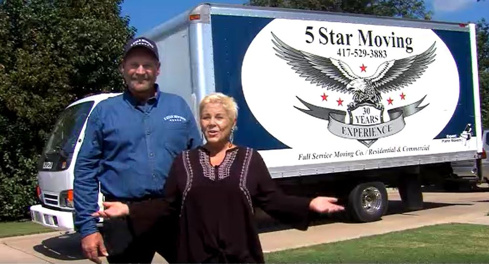 5 Star Moving Services: Joplin, MO