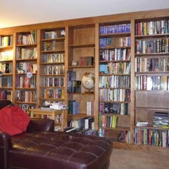 Custom design u0026 build floor-to-ceiling bookcase. - Yelp
