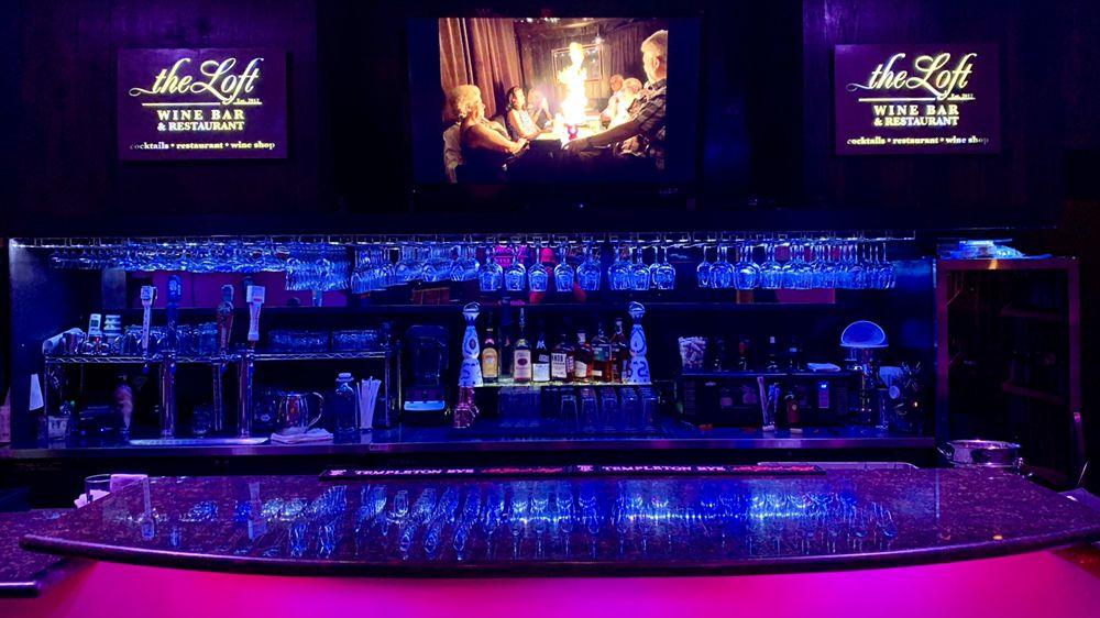The Loft Wine Bar & Restaurant: 280 1st St, Benicia, CA