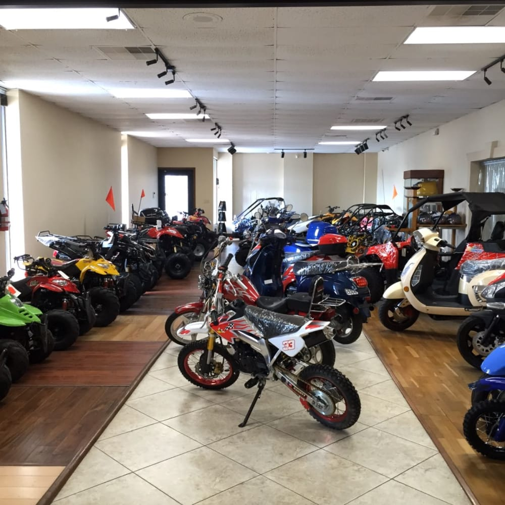 Atv Scooter Store: 13830 N Stemmons Fwy, Farmers Branch, TX