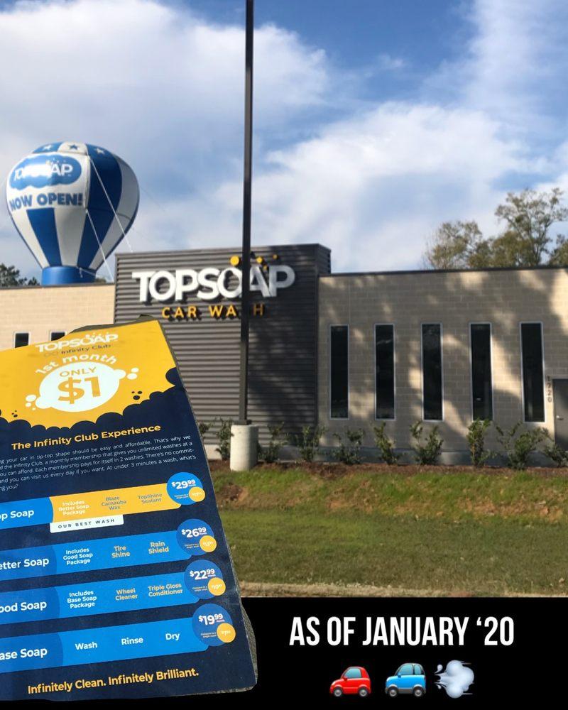 TopSoap Car Wash: 1720 N Loop 336 W, Conroe, TX