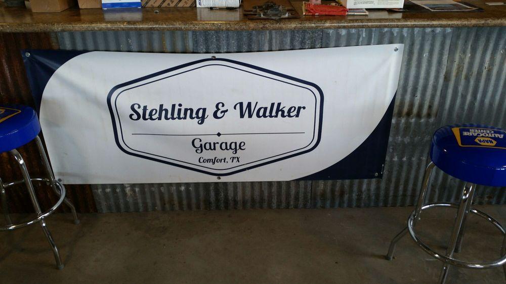 Stehling & Walker Garage: 26 US Hwy 87, Comfort, TX