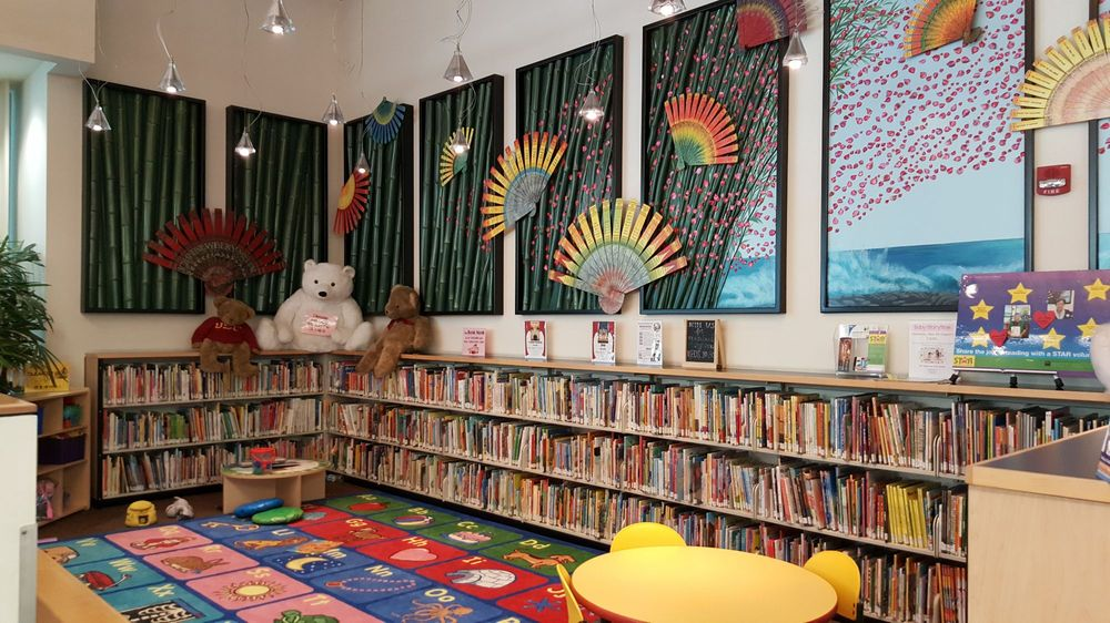 Los Angeles Public Library - Chinatown Branch: 639 North Hill St, Los Angeles, CA