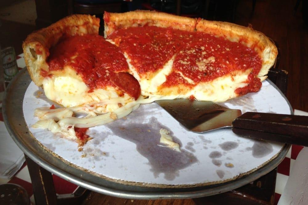 Pepperoni Deep Dish Pizza - Yelp  Pepperoni Deep ...