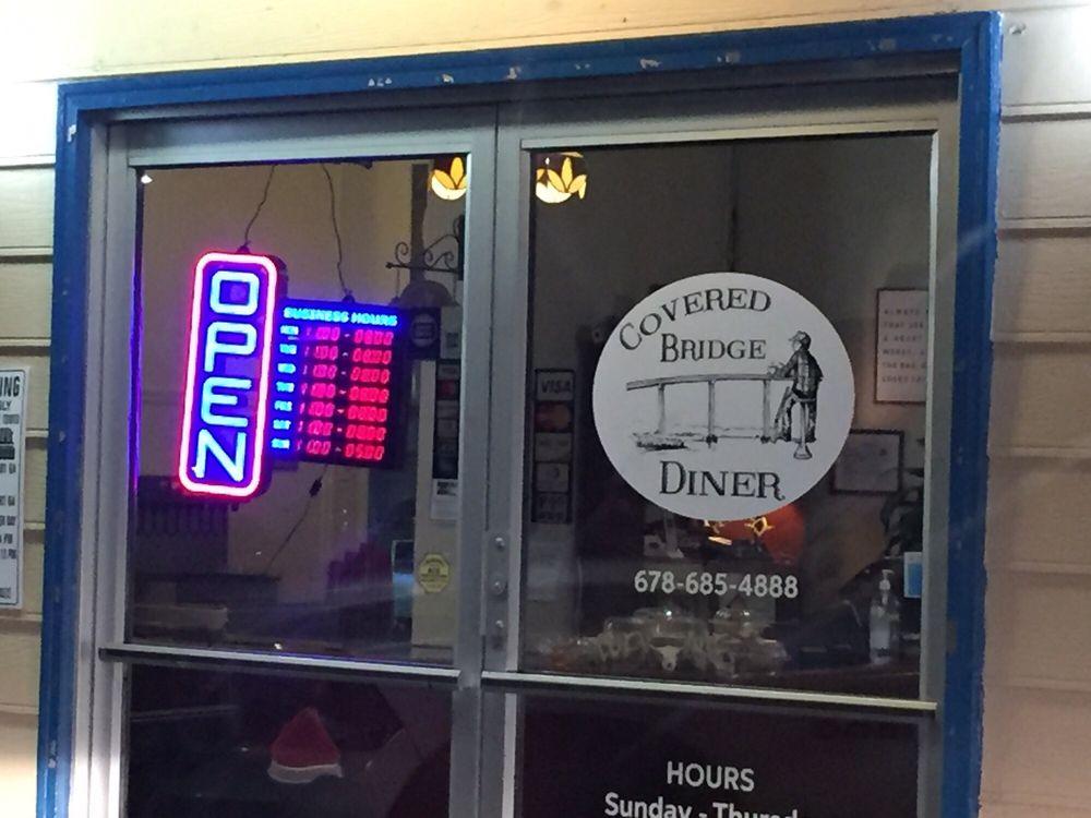 Covered Bridge Diner: 642 Goodyear Ave, Rockmart, GA