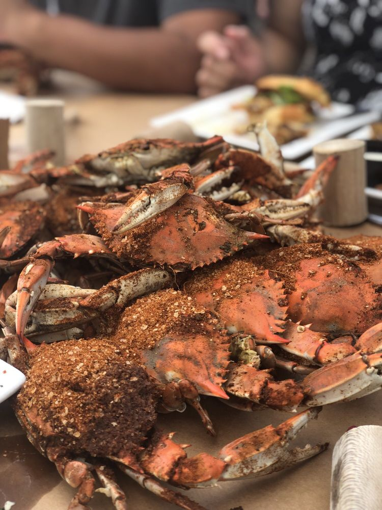 The Point Crab House and Grill: 700 Mill Creek Rd, Arnold, MD