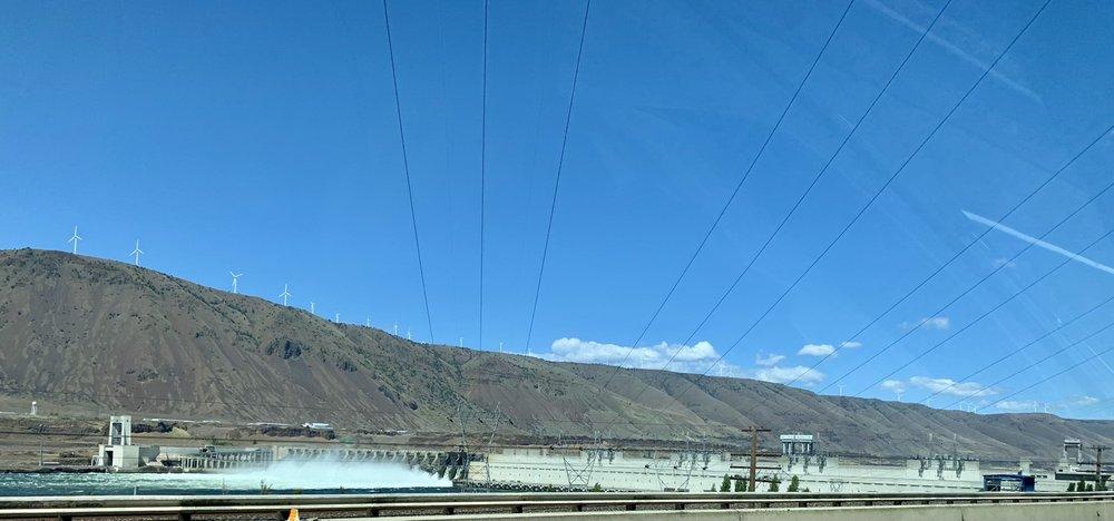 John Day Dam: 28 Miles E Of The Dalles, The Dalles, OR