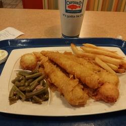 Photo Of Captain D S Huntsville Al United States 3 Pc Fish Dinner