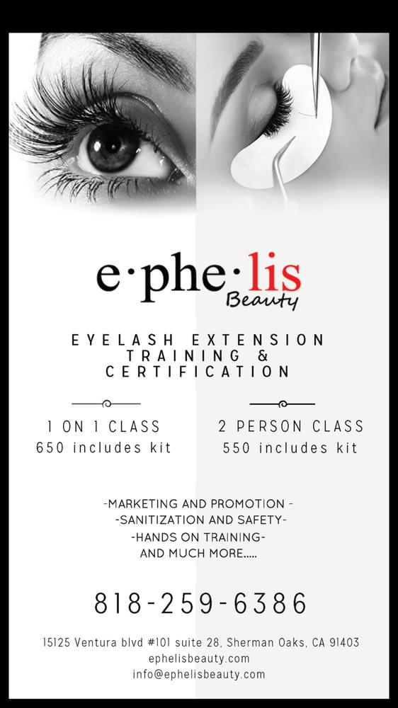Eyelash Extension Training Certification Course Yelp