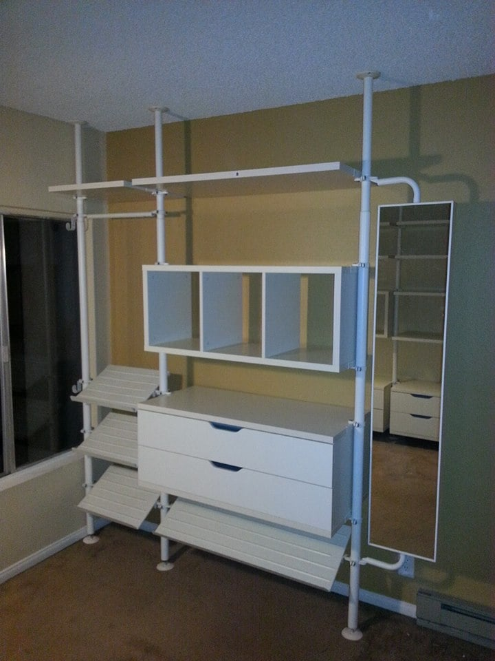 Ikea Stolmen Shelving System Requires Precision Installation We Can