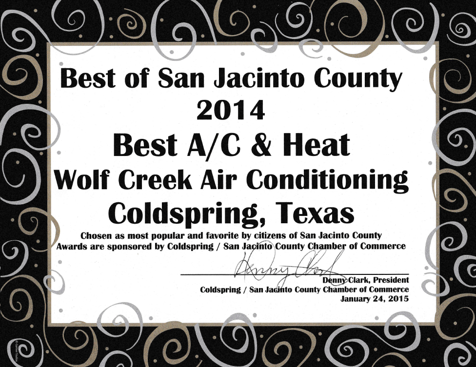 Photo of Wolf Creek Air Conditioning: Coldspring, TX