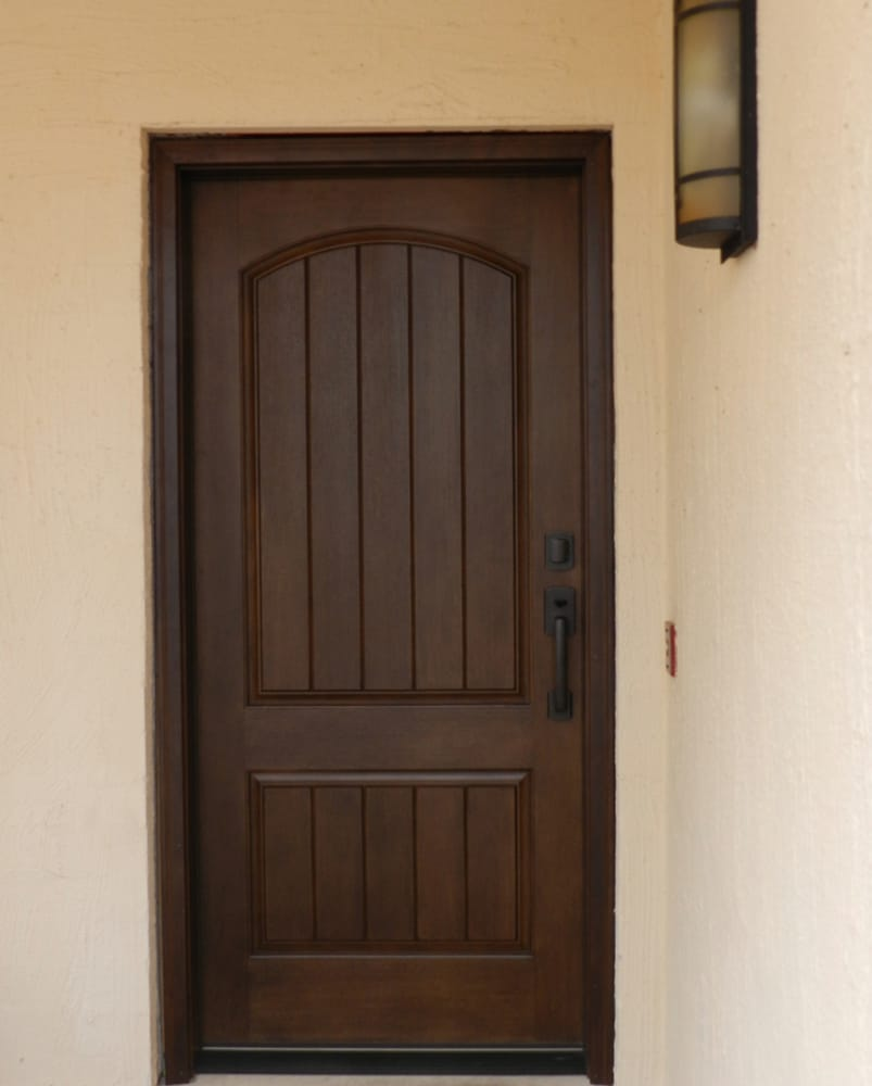 Thermatru Ccr205 Rustic Door Finished English Walnut
