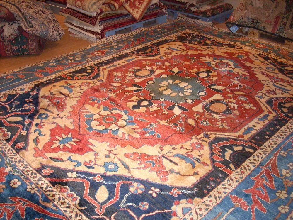 Limpieza de alfombras persas elegant alfombra antes de for Tapetes orientales
