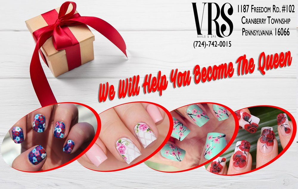 VRS Nails & Spa: 1187 Freedom Rd, Cranberry Township, PA