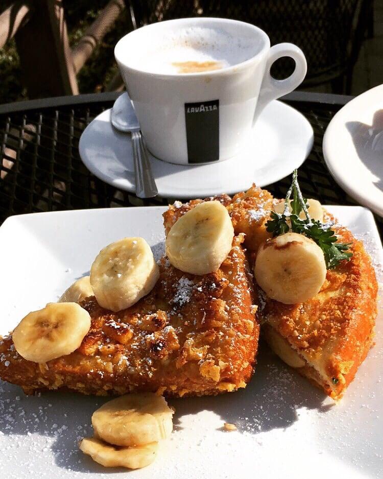 Captain crunch peanut butter French toast  Best breakfast
