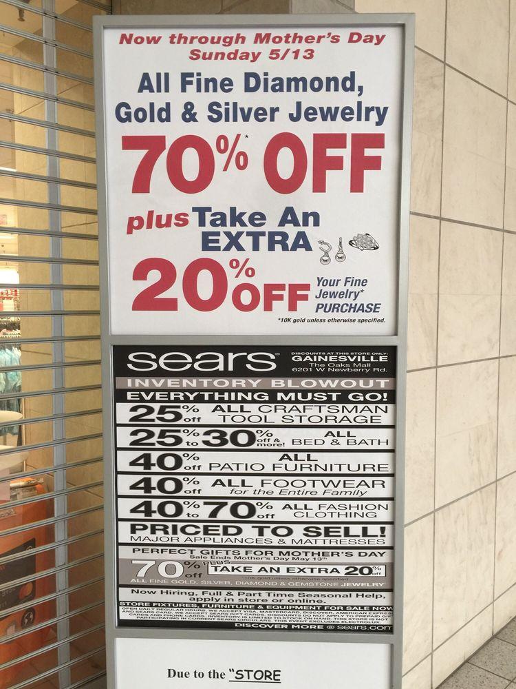 Sears: 6201 W Newberry Rd, Gainesville, FL
