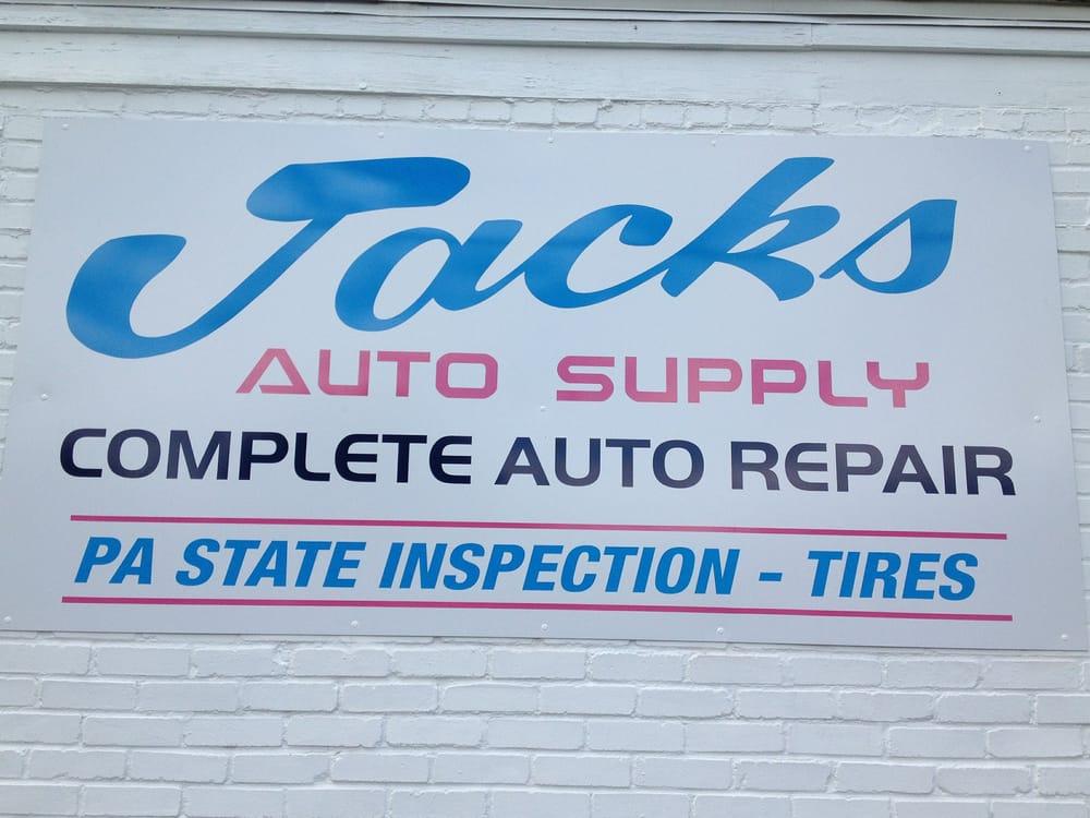Jack's Auto Supply: 230 W Main St, Schuylkill Haven, PA
