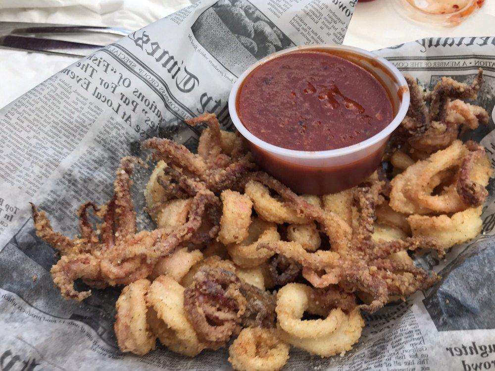 Food from Calamari's Squid Row
