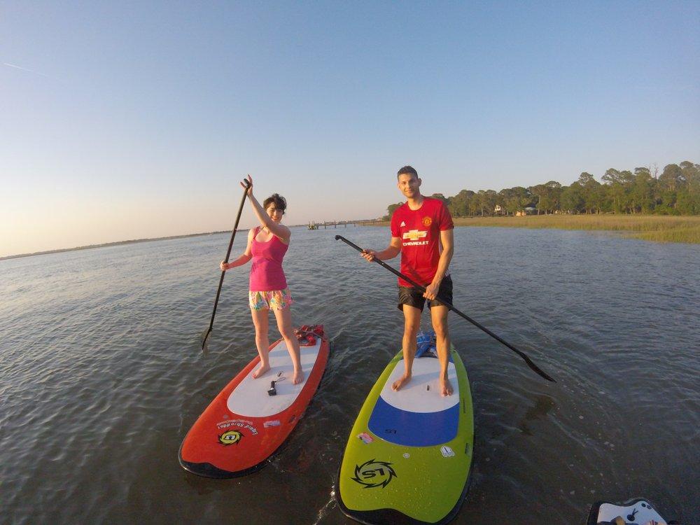 Charleston Paddle Board Company: 1202 Palm Blvd B, Charleston, SC
