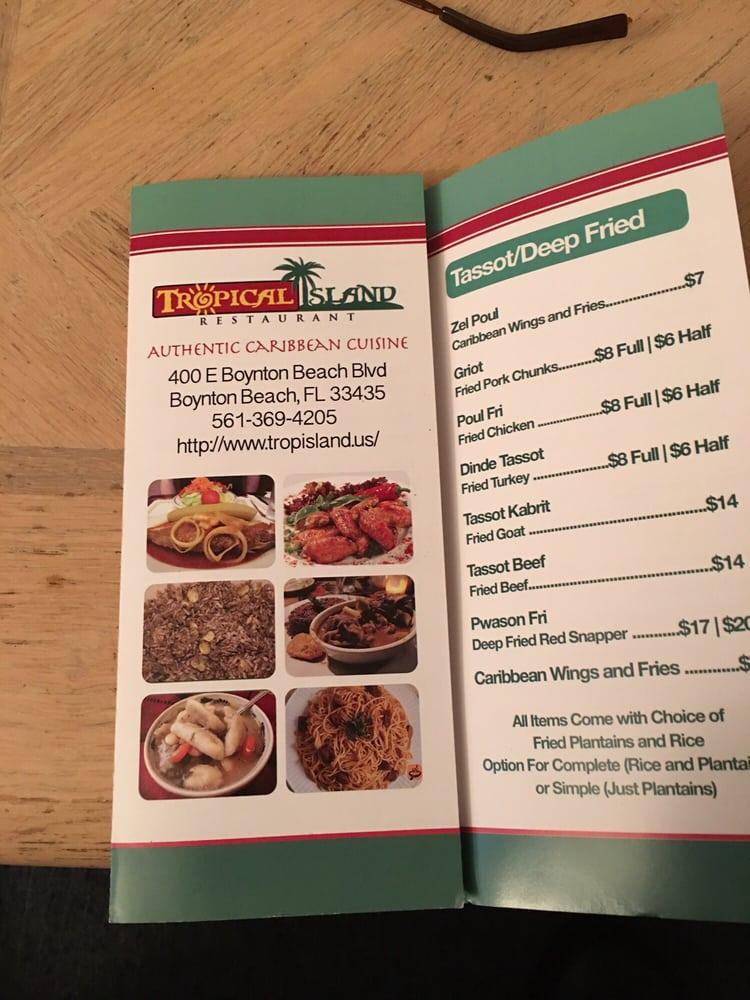 Tropical Island Restaurant Boynton Beach Blvd