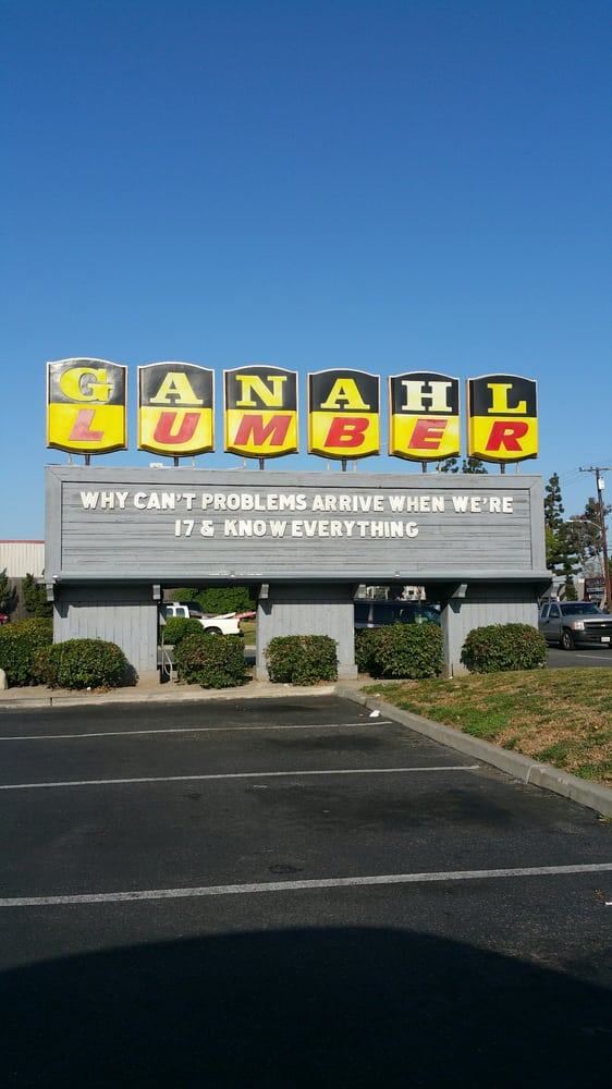 Ain 39 t this the truth yelp for Ganahl lumber